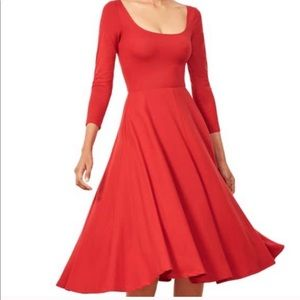 Brand new reformation Lou Midi Dress